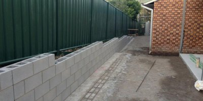 Gallery - Concrete Retaining Walls