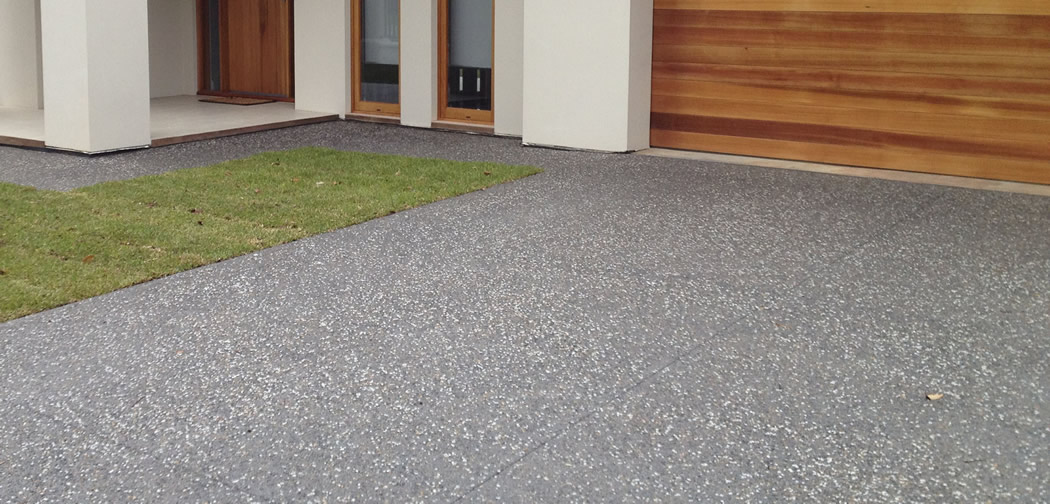 Brisbane Exposed Aggregate Concrete Finish