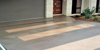 Gallery - Stencil Concrete Finish