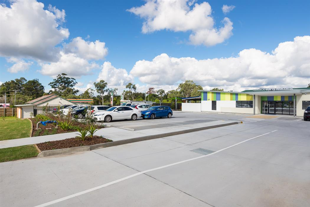Brisbane Commercial Concreting - Small Carpark