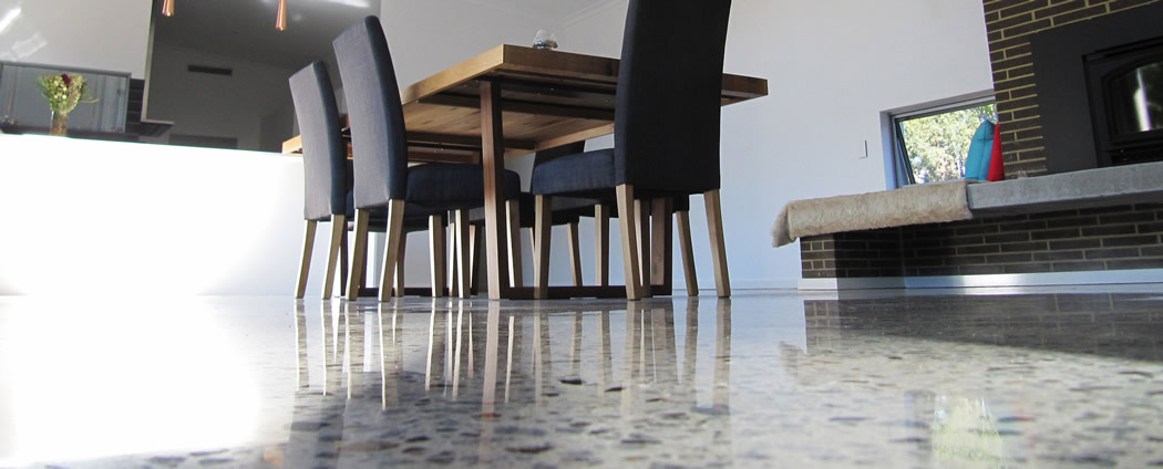 Brisbane Polished Honed Concrete Finish